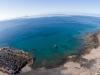 Een mooie 'Drone foto'. - Huisrif Dive College Lanzarote