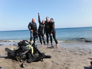 Geslaagd voor PADI Open Water Diver - Duikschool Apeldoorn