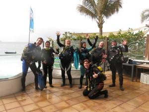 Groepsreis Lanzarote Maart 2016 - Aart Henk jr., Karin, Eleonora, Brita, Mary Lou, Jan, Aart Henk