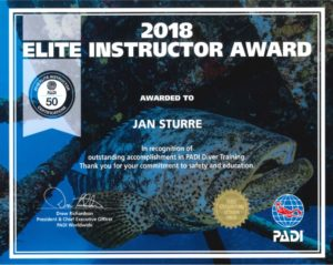 Elite Instructor Award